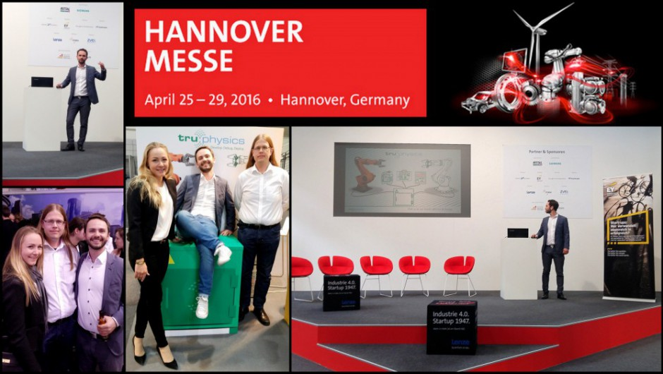 Impressionen von der Hannover Messe '16